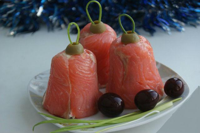 Закуски из слабосоленой семги рыбы с фото
